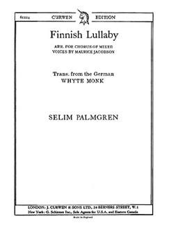 Palgren Finnish Lullaby Satb  | Choral