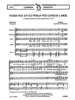 Wheeler There Old Woman Lived Satb  | Chor