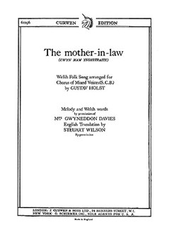 Holst: The Mother-In-Law SAB Libro | SAB