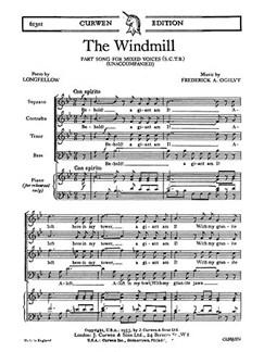 Ogilvy The Windmill Satb    Choral