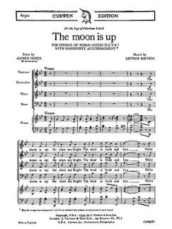 Baynon The Moon Is Up Satb  | Chor