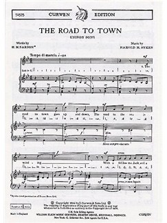 Harold H. Sykes: The Road To Town Books | Unison Voice and Piano