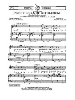 Felton Rapley: Sweet Bells Of Bethlehem Books | Unison Voices, Piano