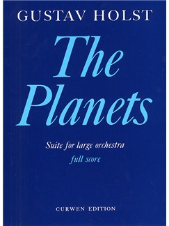 Gustav Holst: The Planets (Full Score) Books | Orchestra