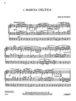 Eric Thiman: Six Pieces In Various Styles - Set 2 Books | Organ