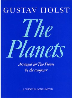 Gustav Holst: The Planets For Two Pianos Books | Two Pianos