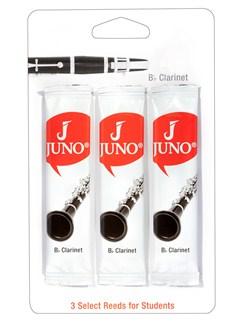 Juno: B Flat Clarinet Reeds 2.5 (3 Pack)  | Clarinet
