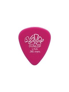 Jim Dunlop: Delrin 500 Standard 0.96mm Plectrum (Pack Of 12)  | Guitar