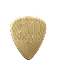 Jim Dunlop: 50th Anniversary Nylon 0.88mm Plectrum (12 Pack)  |