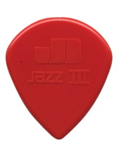 Jim Dunlop: Jazz III XL Nylon Pick (Pack Of Six)  | Guitar