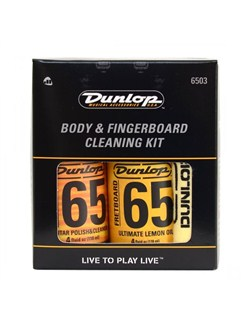 Dunlop JD-6503 Formula 65 Body & Fingerboard Care Kit  |