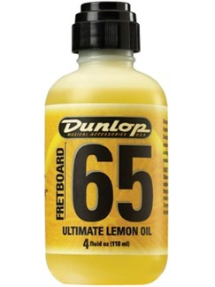 Jim Dunlop: Fretboard 65 Lemon Oil (118ml)  | Guitar, Bass Guitar