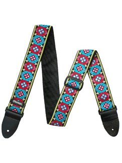 Jim Dunlop: Golden Gate Jacquard Guitar Strap  | Guitar