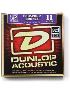 Jim Dunlop: Phosphor Bronze Acoustic Guitar Strings - Medium Light (.011 - .052)  | Acoustic Guitar