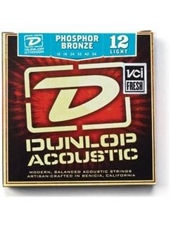 Jim Dunlop: Phosphor Bronze Acoustic Guitar Strings - Light (.012 - .054)  | Acoustic Guitar