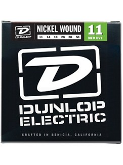 Jim Dunlop: Nickel Wound Electric Guitar Strings - Medium Heavy (.011 - .050)  | Electric Guitar