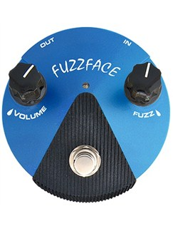 Jim Dunlop: Silicone Fuzz Face Mini Distortion  | Electric Guitar