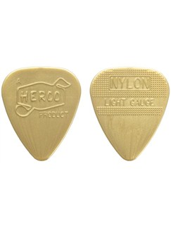 Jim Dunlop: Herco Vintage '66 Light Pick - Gold (Pack Of Six)  | Guitar, Bass Guitar
