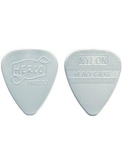 Jim Dunlop: Herco Vintage '66 Heavy Pick - Silver (Pack Of Six)    Guitar, Bass Guitar