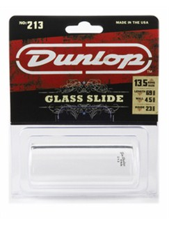 Jim Dunlop: 213 Pyrex Glass Guitar Slide (Heavy Wall Thickness/Large)  | Acoustic Guitar, Electric Guitar