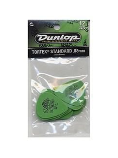 Jim Dunlop: Tortex Standard 0.88mm Plectrum (12 Pack)  | Guitar
