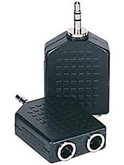 GYC: 3.5mm Jack Headphone 2-Way Adaptor  |