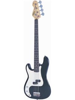 Vintage: V4 Left Handed Bass Guitar - Boulevard Black Instruments | Bass Guitar
