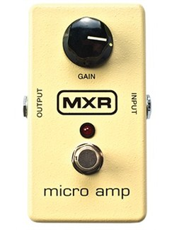 Jim Dunlop: MXR M133 Micro Amp Pedal  | Guitar