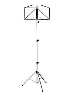Kinsman: Music Stand And Carry Bag (Chrome)  |
