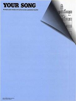 Elton John: Your Song Books | Piano, Voice & Guitar