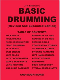 Joel Rothman's Basic Drumming (Revised and Expanded Edition) Books | Drums