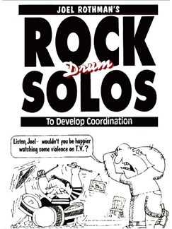 Joel Rothman: Rock Drum Solos To Develop Coordination Books | Drums