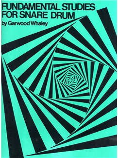 Garwood Whaley: Fundamental Studies For Snare Drum Books | Drums