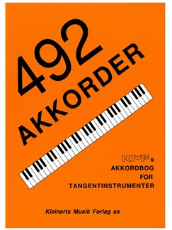492 Akkorder - Akkordbog For Tangentinstrumenter (Piano/Keyboard) Books | Keyboard, Piano