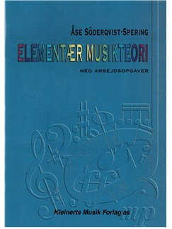 Åse Söderqvist-Spering: Elementær Musikteori (Music Theory) Bog |