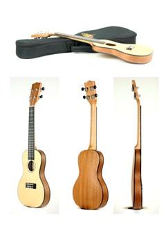 Kala: KA-SSTU-C Travel Concert Ukulele Instruments | Ukulele