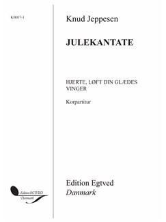 Knud Jeppesen: Hjerte, Løft Din Glædes Vinger (Choral Score) Books   Organ, String Instruments, Trumpet