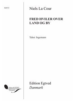 Niels La Cour: Fred Hviler Over Land Og By Books | SATB