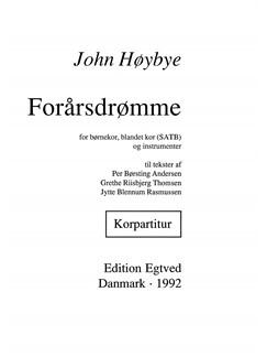 John Høybye: Forårsdrømme (Choral Score) Bog | 2-stemmigt kor, SATB