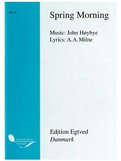 John Høybye: Spring Morning (Score/CD) Bog | Obo, Strygekvartet, Kor, SATB