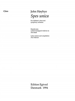 John Høybye: Spec Unica (Choral Score) Libro | SSA, Coral