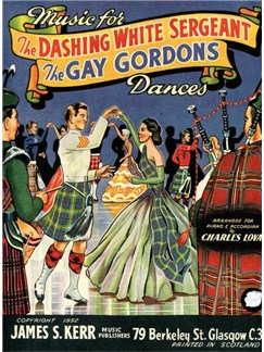Music For The Dashing White Sergeant/The Gay Gordons Dances Books | Piano and Accordion