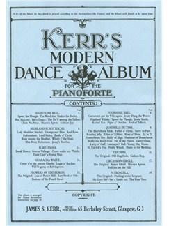 James S. Kerr: Kerr's Modern Dance Album - Piano Books | Piano