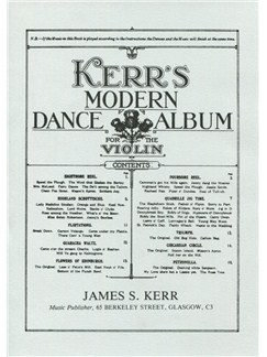James S. Kerr: Kerr's Modern Dance Album - Violin Books | Violin