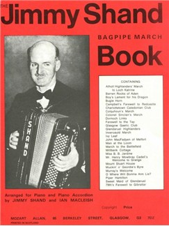 Jimmy Shand Marches Books | Accordion or Piano