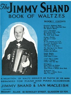 The Jimmy Shand Book Of Waltzes No.1 Books | Accordion, Piano Accompaniment