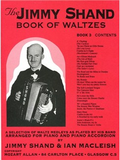 The Jimmy Shand Book Of Waltzes No.3 Books | Accordion, Piano Accompaniment