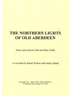 Northen Lights Of Old Aberdeen Books | Piano, Voice & Guitar