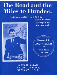 Road And Miles To Dundee Books | Voice, Piano Accompaniment