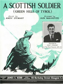 A Scottish Soldier (Green Hills Of Tyrol) Books | Piano, Vocal & Guitar (with Chord Symbols)